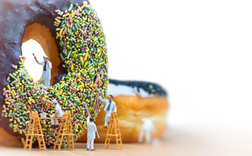 甜點巧克力甜甜圈檢驗分析項目