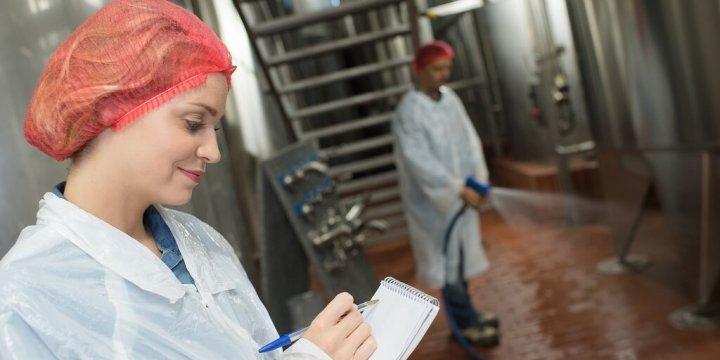 食品廠環境的微生物監控