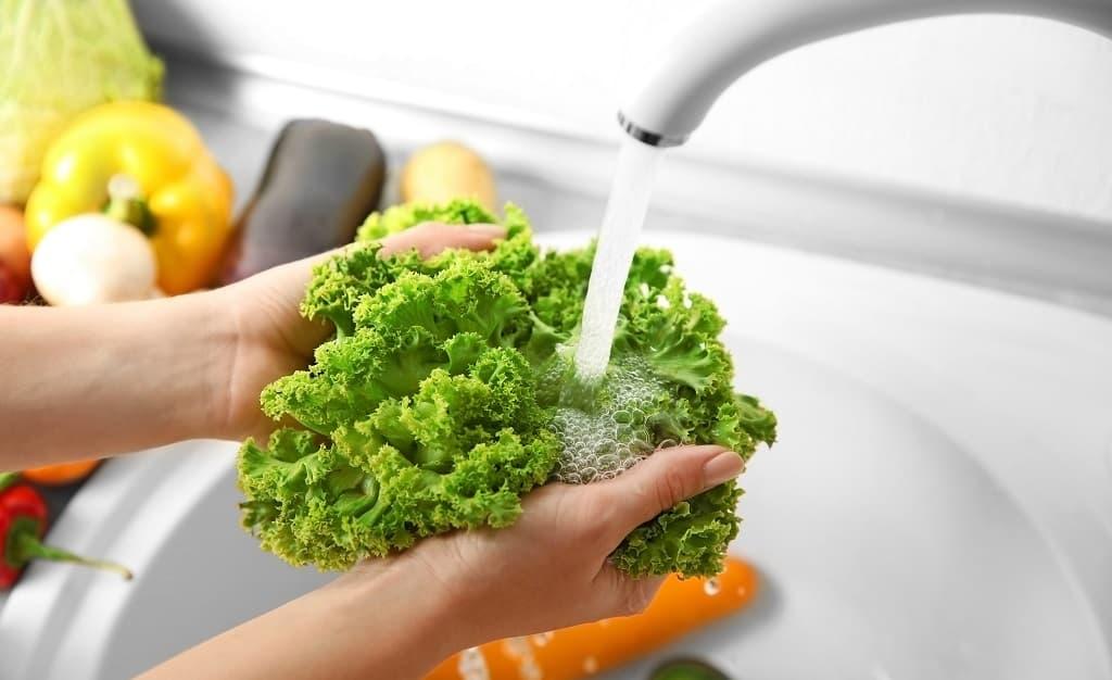 清水沖洗蔬菜去掉農藥殘留衛生標準