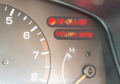 能力試驗新功能-警示燈號
